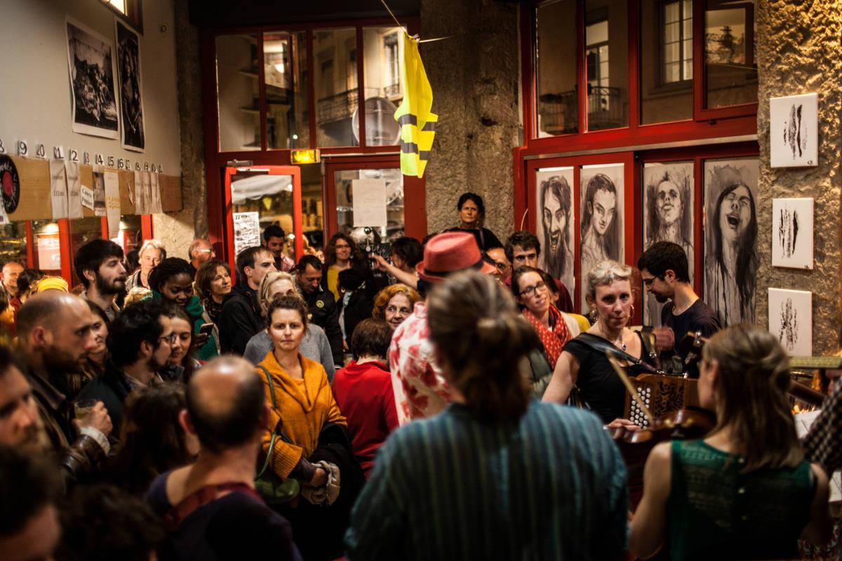 Lubenica au bar Les Clameurs